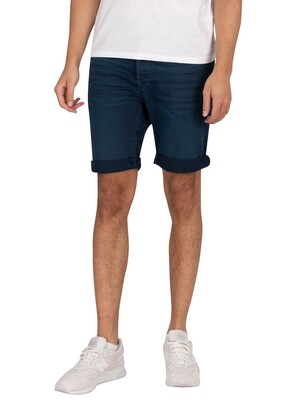 Replay RBJ.901 Tapered Denim Shorts - Navy