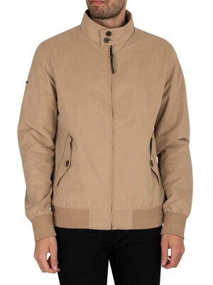 Superdry Iconic Harrington Jacket - Tan