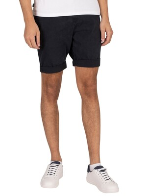 Superdry International Chino Shorts - Midnight Navy