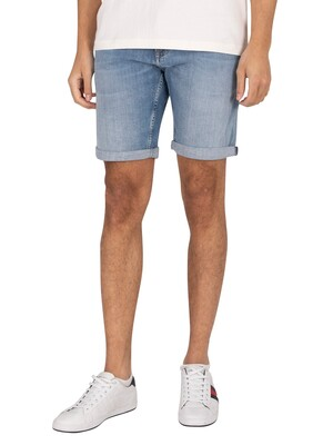 Tommy Jeans Scanton Slim Denim Shorts - Hampton
