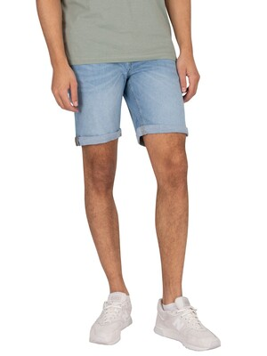 Jack & Jones Rick Original 002 Denim Shorts - Blue
