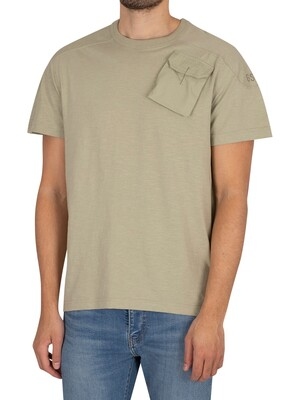 G-Star Military 3D Woven Pocket T-Shirt - Grege Green