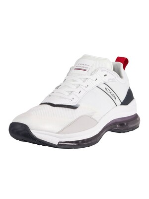 Tommy Hilfiger Air Runner Mix Trainers - Red/White/Blue