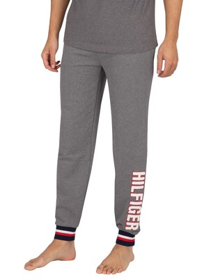 Tommy Hilfiger Lounge Brand Joggers - Zinc Vigore/Recover
