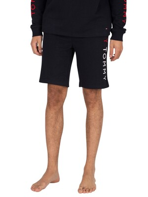 Tommy Hilfiger Lounge Side Logo Sweat Shorts - Desert Sky