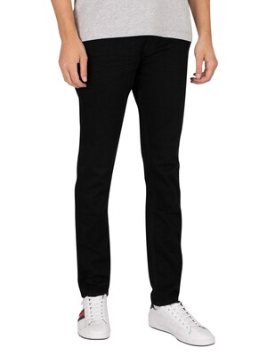 Tommy Jeans Austin Slim Tapered Jeans - New Black Stretch