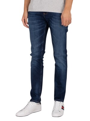 Tommy Jeans Austin Slim Tapered Jeans - Aspen Dark Blue Stretch