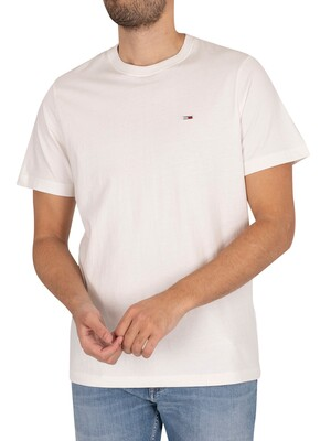 Tommy Jeans Classic Jersey T-Shirt - White