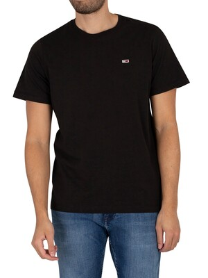 Tommy Jeans Classic Jersey T-Shirt - Black