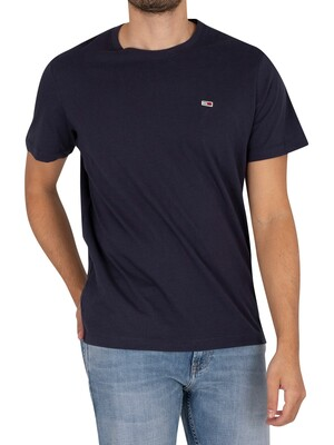 Tommy Jeans Classic Jersey T-Shirt - Twilight Navy