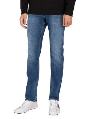 Tommy Jeans Scanton Slim Jeans - Dynamic Jacob Mid Blue Stretch
