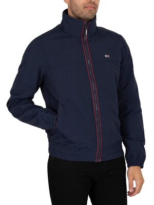 Tommy Jeans Essential Casual Light Jacket - Twilight Navy