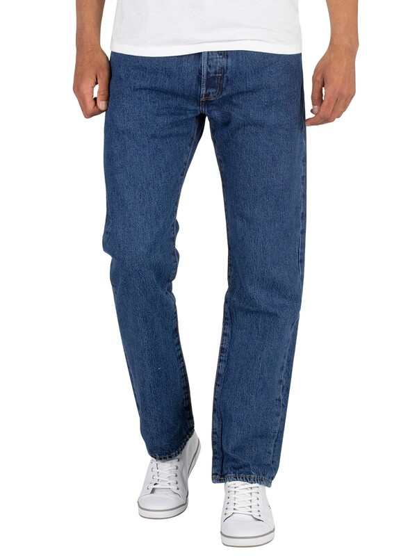 Levi's 501 Original Fit Denim Jeans - Stonewash