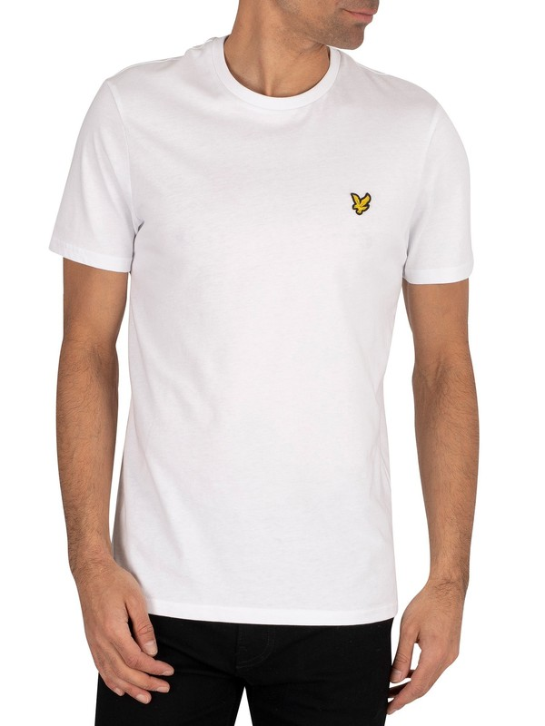 Lyle & Scott Logo T-Shirt - White