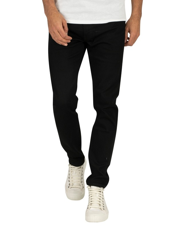 Levi's 512 Slim Tapered Fit Nightshine Jeans - Black