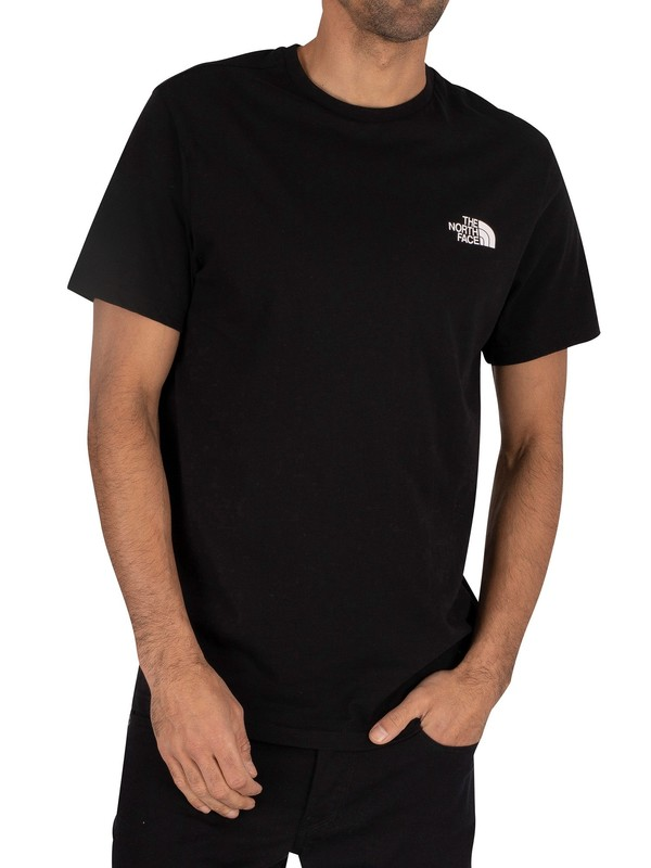 The North Face Simple Dome Logo T-Shirt - Black