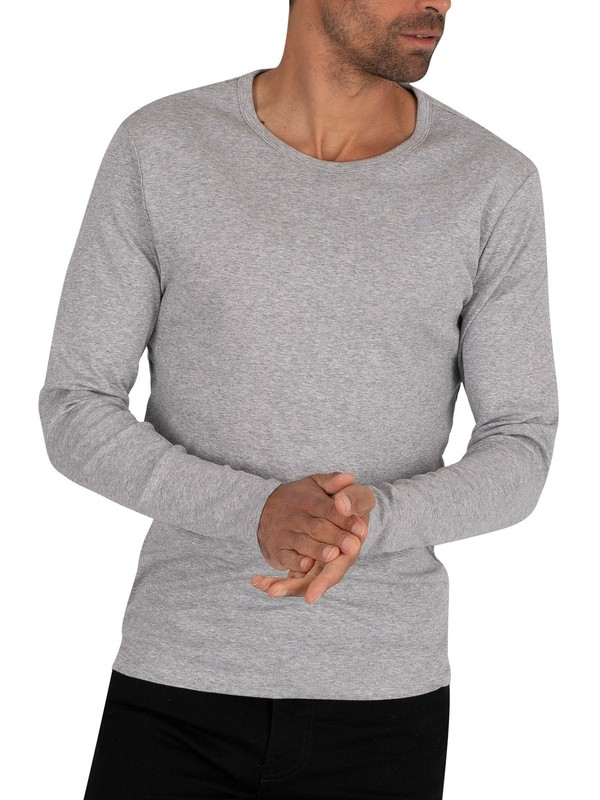 G-Star Longsleeved Slim T-Shirt - Grey Heather
