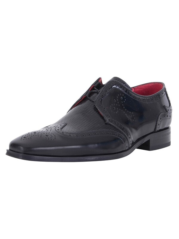 Jeffery West Polished Shoes - Black
