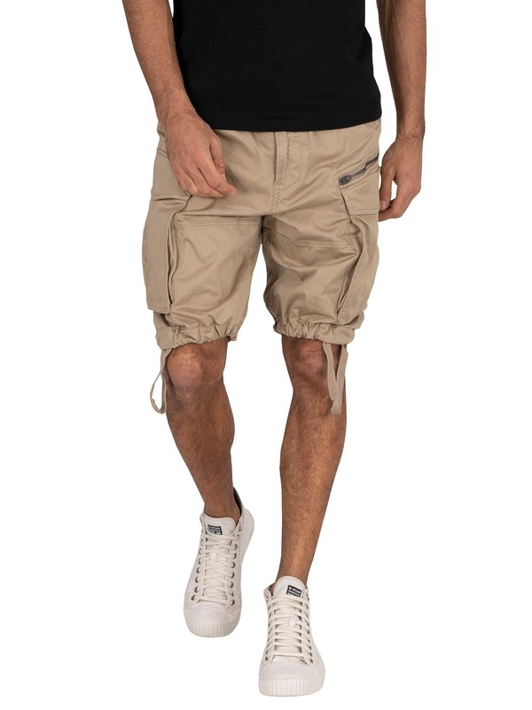 G-Star Rovic Loose Cargo Shorts - Dune
