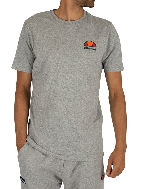 Ellesse Canaletto T-Shirt - Athletic Grey Marl
