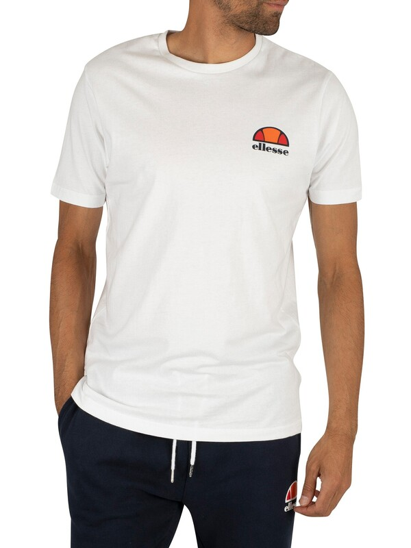 Ellesse Canaletto T-Shirt - Optic White