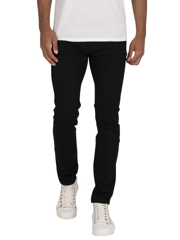 Levi's 519 Extreme Skinny Fit Jeans - Black