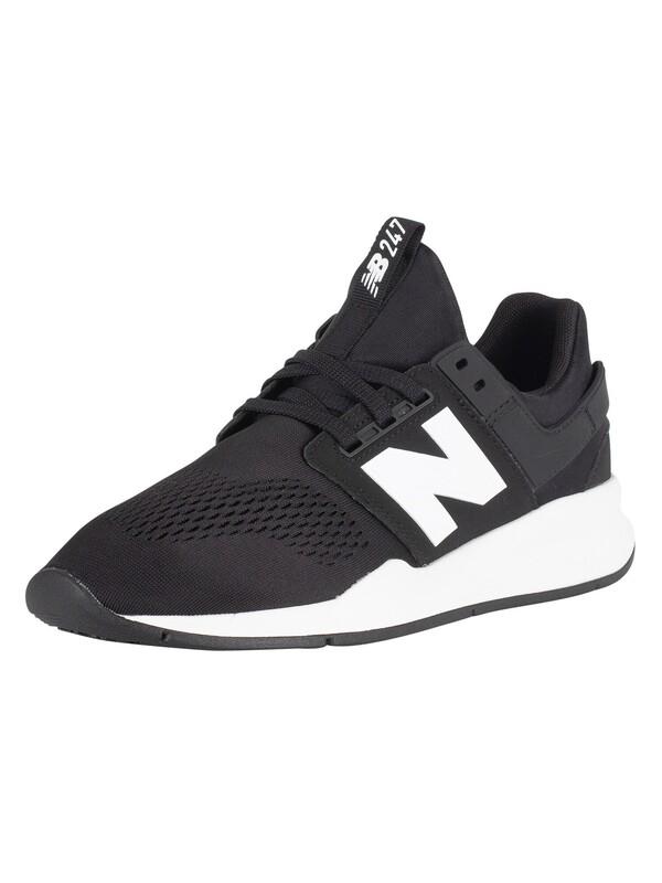 New Balance 247 Trainers BlackWhite