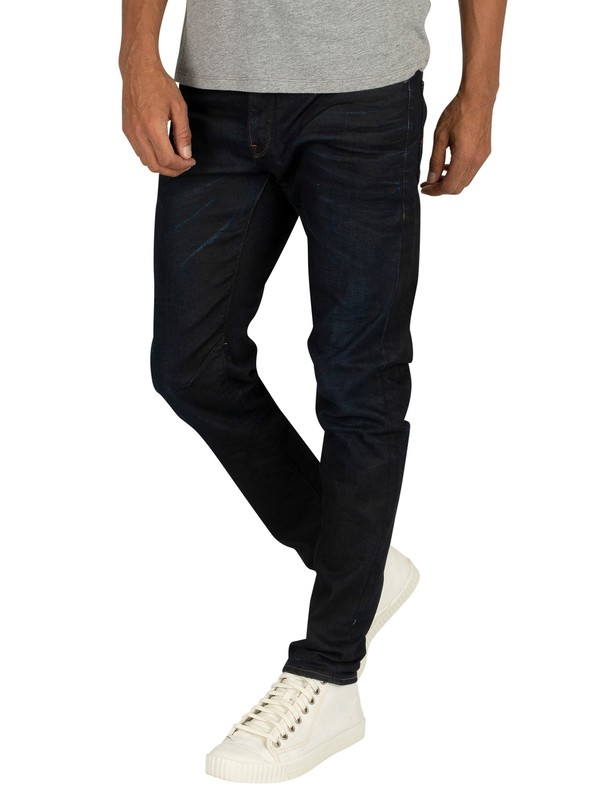 G-Star D-Staq 5 Pocket Slim Fit Jeans - Dark Aged