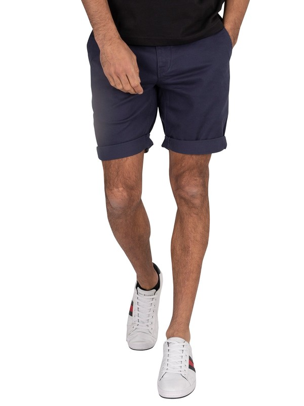 Tommy Jeans Essential Chino Shorts - Black Iris Navy