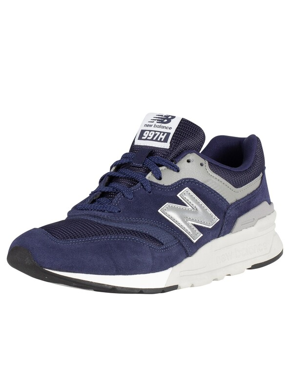 New Balance 997H Suede Trainers - Blue/Silver