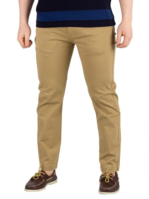 Levi's 502 True Chinos - Harvest Gold Wonderknit