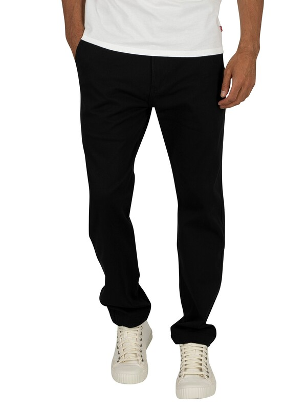 Levi's 502 Regular Taper Chinos - Black