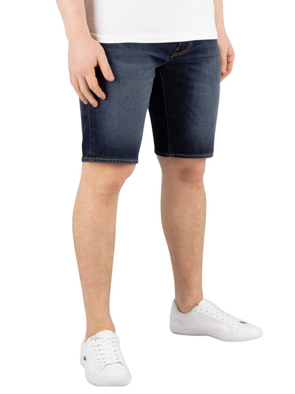 Levi's 502 Taper Hemmed Shorts - Saturn