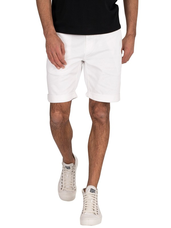 Tommy Jeans Essential Chino Shorts - Classic White