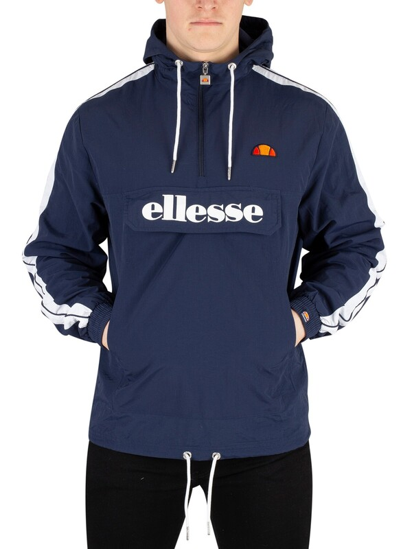Ellesse Fighter 1/2 Zip Track Jacket - Navy