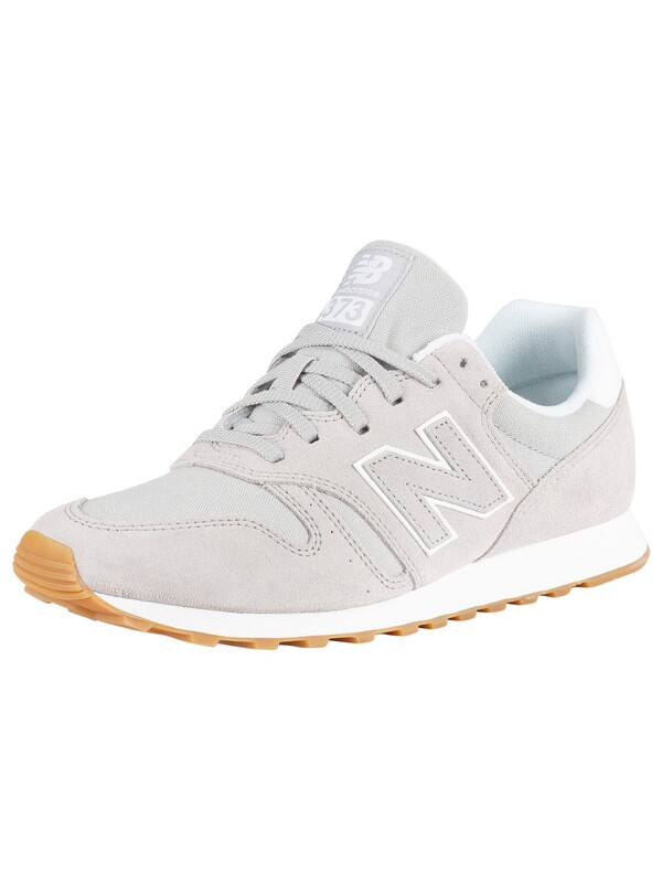 New Balance 373 Suede Trainers - Grey