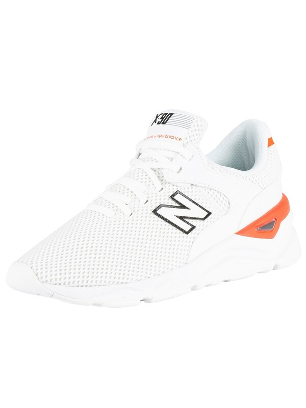 New Balance X-90 Mesh Trainers - White