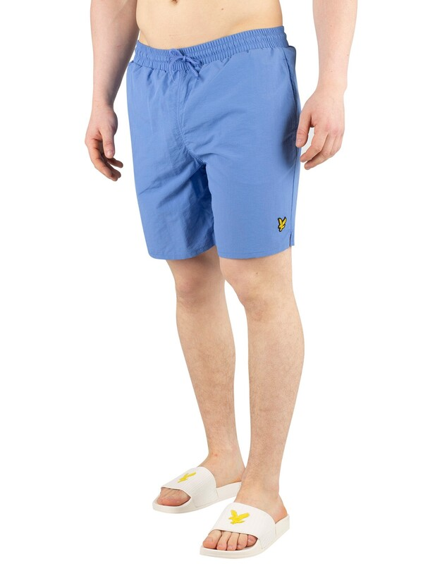 Lyle & Scott Plain Swim Shorts - Cornflower Blue