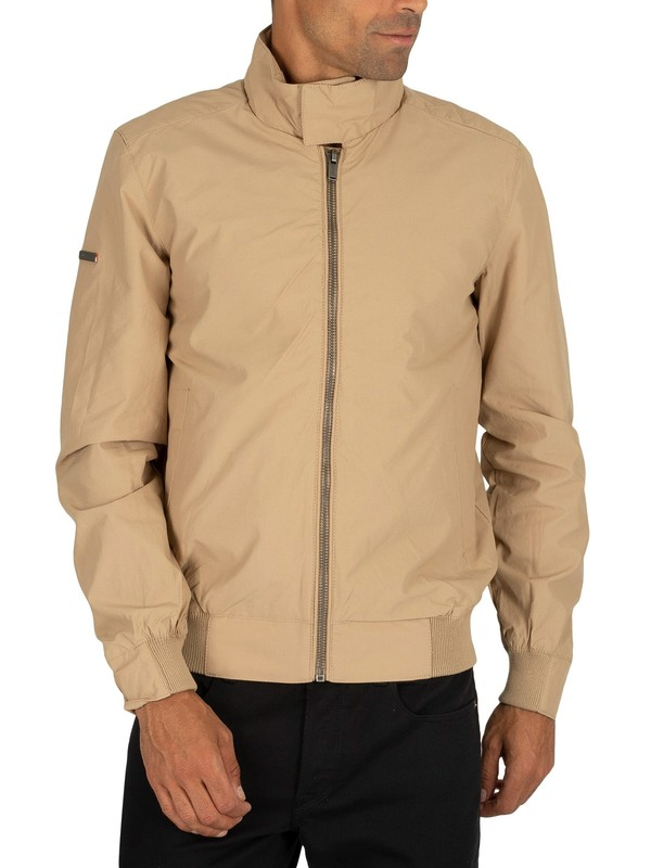 Superdry Montauk Harrington Jacket - Stone
