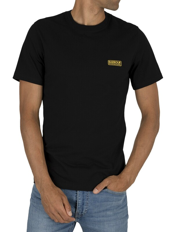 Barbour International Small Logo T-Shirt - Black