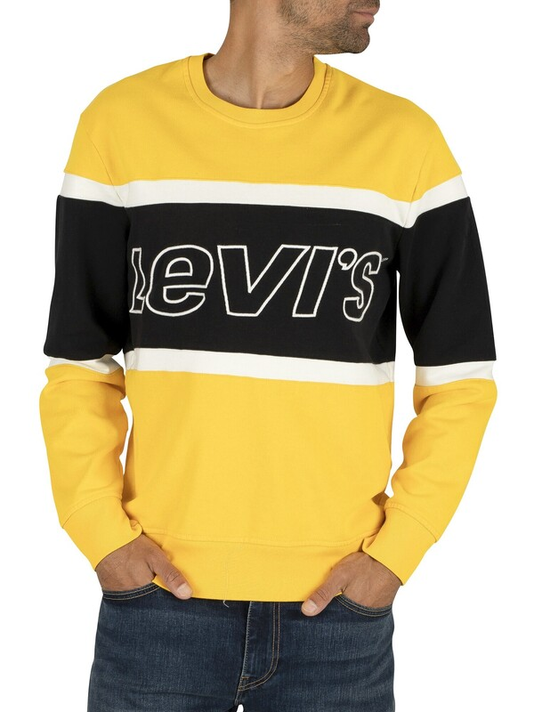 Levi's Pieced Sweatshirt - Jersey Yellow