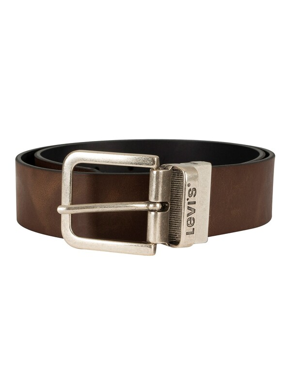Levi's Reversible Leather Belt - Brown