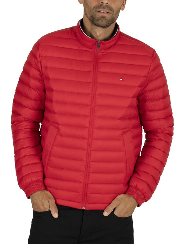 Tommy Hilfiger Packable Down Jacket - Haute Red