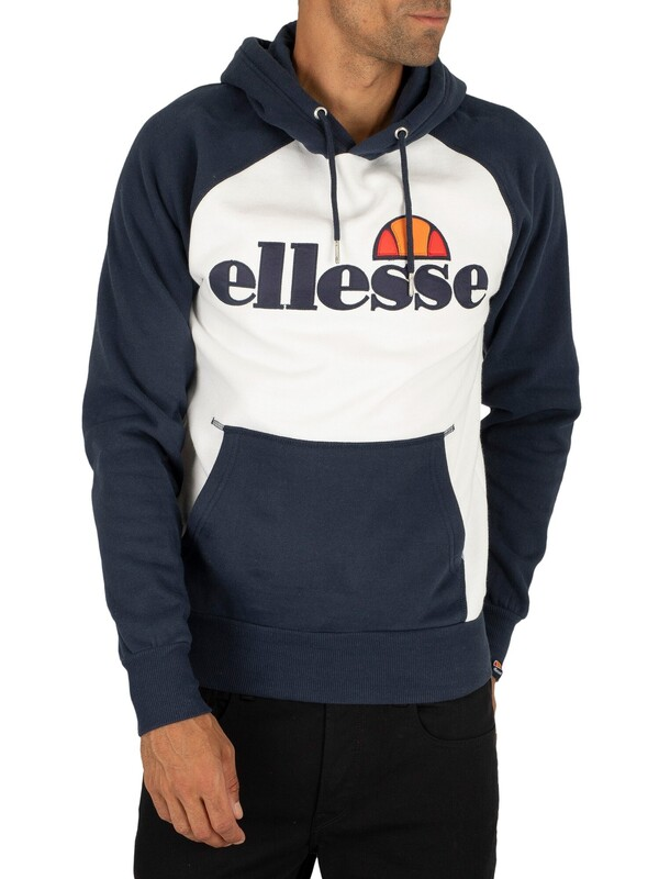 Ellesse Taliamento Pullover Hoodie - White