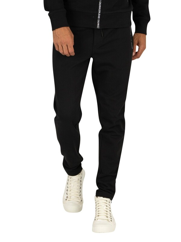 Calvin Klein Jeans Instit Pocket Joggers - Black Beauty
