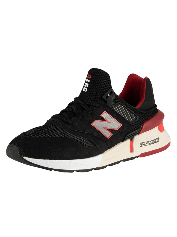 New Balance 997 Trainers - Black/Red