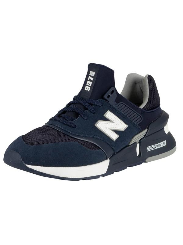 competitive price 14484 ea1da New Balance 997 Sport Trainers - Pigment/White