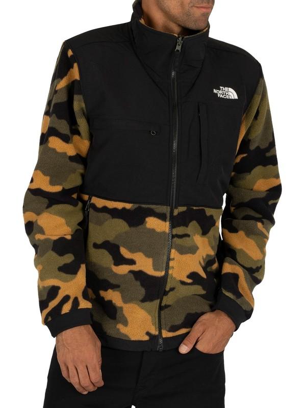 Men's camo fleece jacket for men