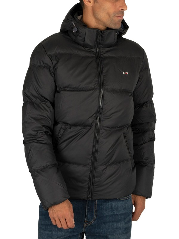 Tommy Jeans Essential Down Jacket - Black
