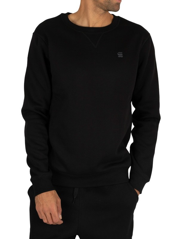 G-Star Premium Core Sweatshirt - Dark Black